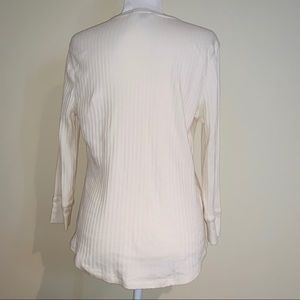 Lauren Ralph Lauren Tops - Lauren by Ralph Lauren Ribbed Henley